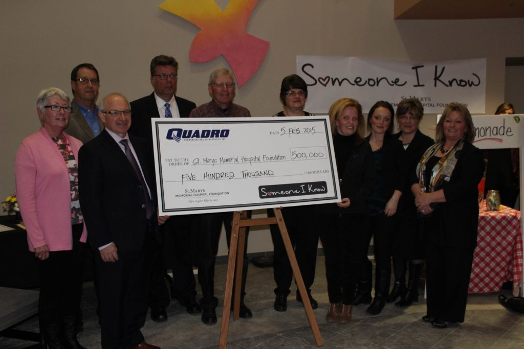 Quadro Communications Donation