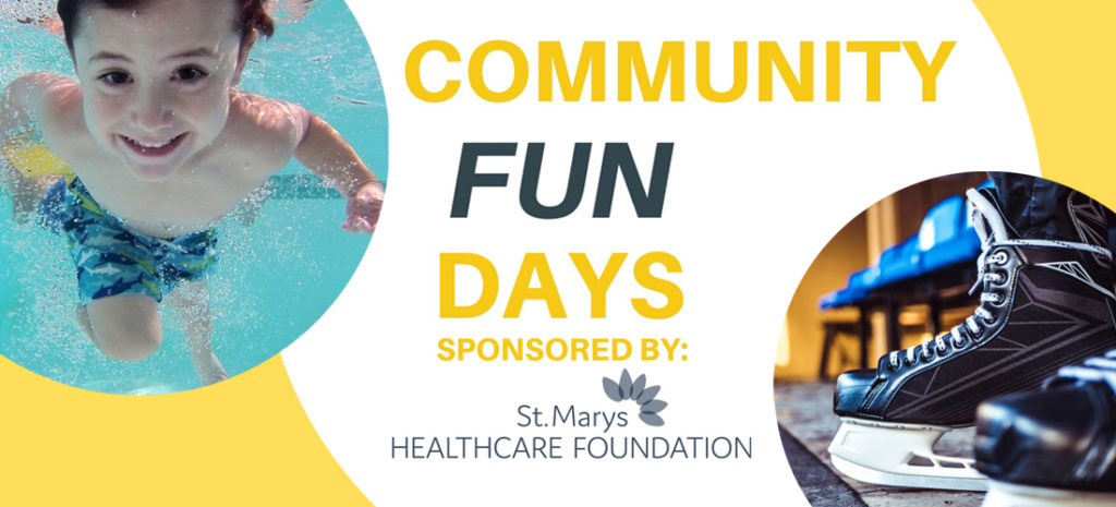 Community Fun Days Sponsord by St. Marys Healthcare Foundation