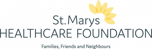 ST MARYS HEALTHCARE FOUNDATION logo horizontal full colour TAGLINE