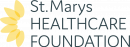 ST MARYS HEALTHCARE FOUNDATION logo stacked full colour